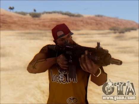 GTA 5 Vom Feuer Carbine Rifle for GTA San Andreas third screenshot