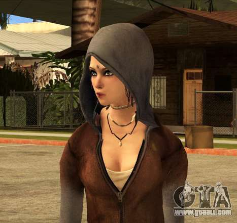 Kat from DMC for GTA San Andreas second screenshot