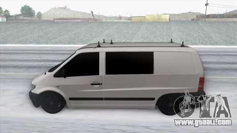 Mercedes-Benz Vito for GTA San Andreas right view