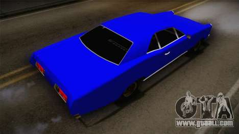 Bestia 1971 from Midnight Club 2 for GTA San Andreas back left view
