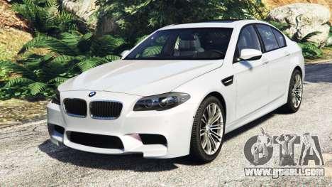 BMW M5 (F10) 2012 [add-on] for GTA 5