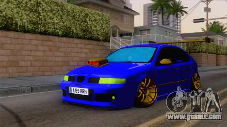 Seat Leon Haur Edition for GTA San Andreas right view