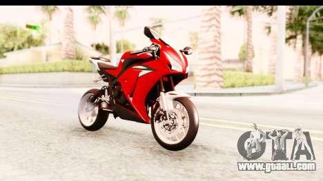 Honda CBR1000RR 2012 for GTA San Andreas