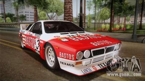 Lancia Rally 037 Stradale (SE037) 1982 HQLM PJ2 for GTA San Andreas left view