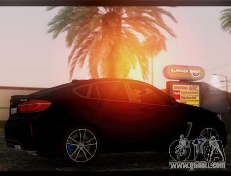 BMW X6M BULKIN ED. for GTA San Andreas left view
