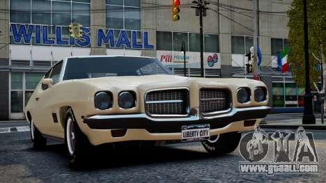 Pontiac LeMans Coupe 1971 for GTA 4