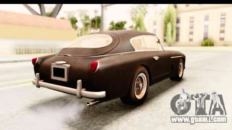 Aston Martin DB2 Mk II 39 1955 for GTA San Andreas left view