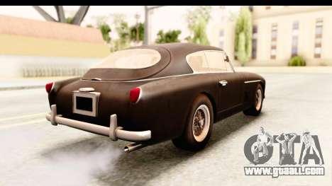 Aston Martin DB2 Mk II 39 1955 for GTA San Andreas left view