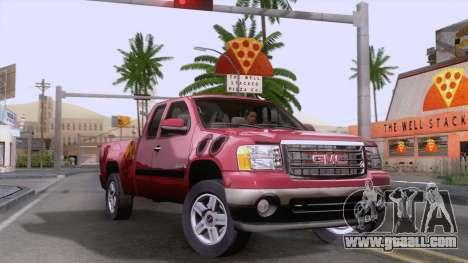 GMC Sierra 2015 for GTA San Andreas