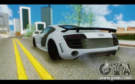 Audi R8 GT Sport 2012 for GTA San Andreas left view