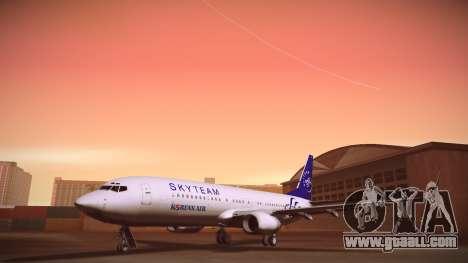 Boeing 737-800 Korean Air Skyteam for GTA San Andreas