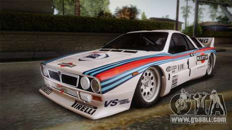 Lancia Rally 037 Stradale (SE037) 1982 IVF PJ1 for GTA San Andreas left view