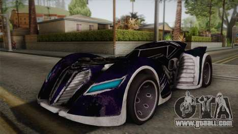 Batman Arkham Asylum Batmobile for GTA San Andreas