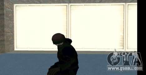 GTA 5 FIB SWAT Blue for GTA San Andreas seventh screenshot