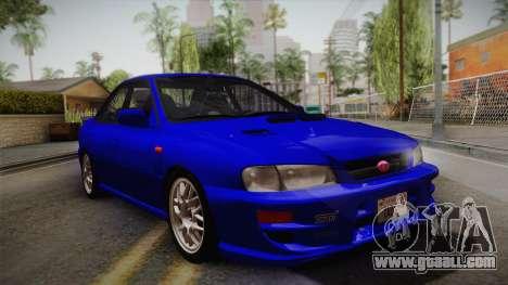 Subaru Impreza WRX STI GC8 1999 v1.0 for GTA San Andreas