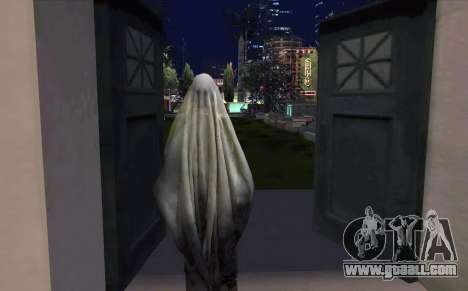 Transparent Ghost for GTA San Andreas