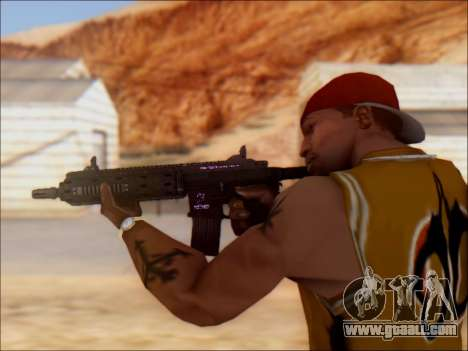 GTA 5 Vom Feuer Carbine Rifle for GTA San Andreas forth screenshot