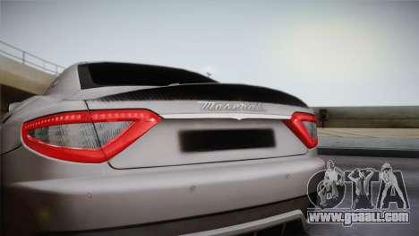 Maserati Gran Turismo Sport for GTA San Andreas right view