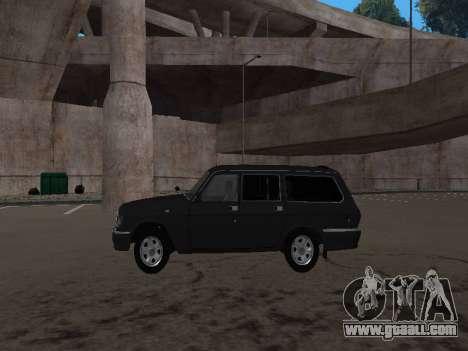 GAZ 310221 for GTA San Andreas right view