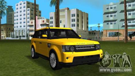 Range Rover Sport HSE (Rims 1) v2.0 for GTA Vice City back view