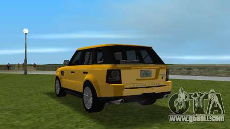 Range Rover Sport HSE (Rims 1) v2.0 for GTA Vice City back left view