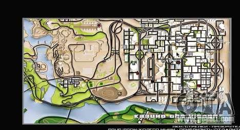 Remaster Map Full Version for GTA San Andreas second screenshot