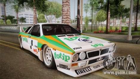 Lancia Rally 037 Stradale (SE037) 1982 HQLM PJ2 for GTA San Andreas back left view
