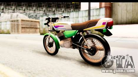 Yamaha RX115 Colombia for GTA San Andreas left view