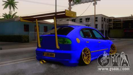 Seat Leon Haur Edition for GTA San Andreas left view