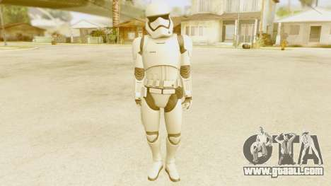 Star Wars Ep 7 First Order Trooper for GTA San Andreas second screenshot