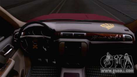 GMC Sierra 2015 for GTA San Andreas back view