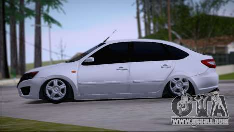Lada Granta LiftBack for GTA San Andreas left view