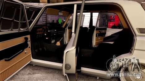 VAZ 2103 for GTA San Andreas wheels
