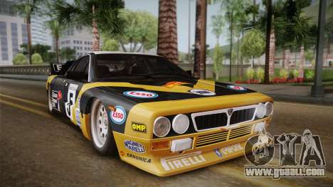 Lancia Rally 037 Stradale (SE037) 1982 IVF PJ2 for GTA San Andreas back left view