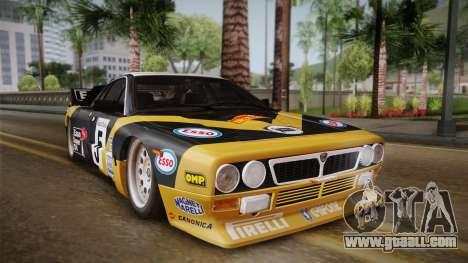 Lancia Rally 037 Stradale (SE037) 1982 IVF PJ2 for GTA San Andreas back left view