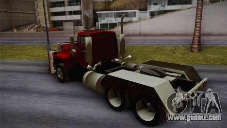 Mack R600 v2 for GTA San Andreas left view