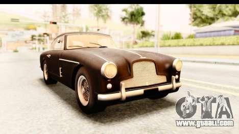 Aston Martin DB2 Mk II 39 1955 for GTA San Andreas back left view