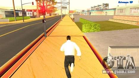 Endless running for GTA San Andreas second screenshot