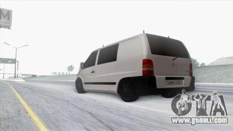 Mercedes-Benz Vito for GTA San Andreas upper view