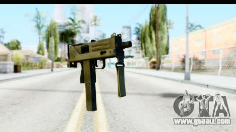 CS:GO - MAC-10 for GTA San Andreas