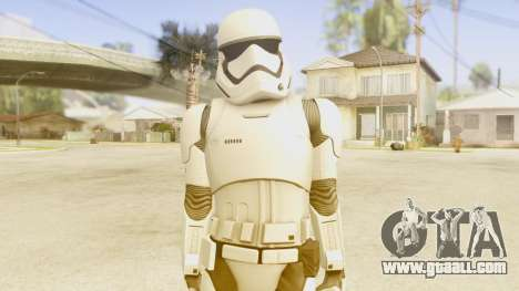 Star Wars Ep 7 First Order Trooper for GTA San Andreas