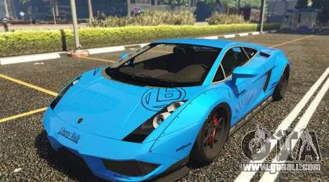 Lamborghini Gallardo Liberty Walk LB Performance