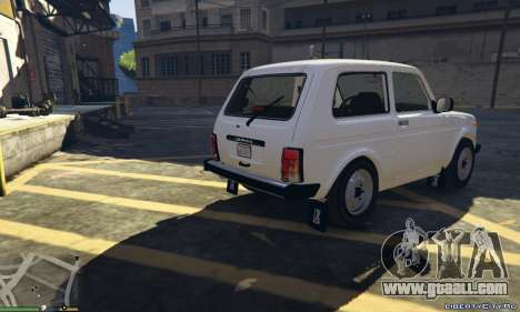 GTA 5 Lada Niva 21214 Final v1.3 rear left side view