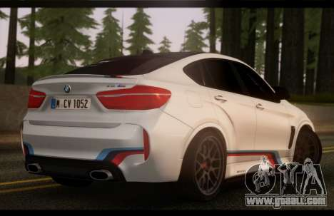 BMW X6M PML ED for GTA San Andreas left view