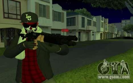 GTA Online Skin for GTA San Andreas second screenshot