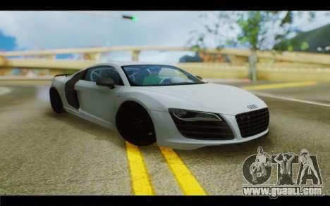 Audi R8 GT Sport 2012 for GTA San Andreas