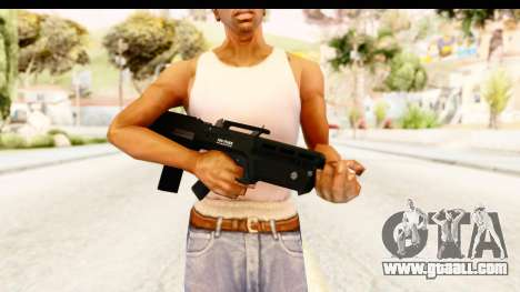GTA 5 Vom Feuer Advanced Rifle for GTA San Andreas third screenshot