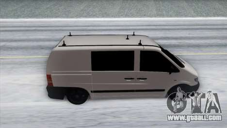 Mercedes-Benz Vito for GTA San Andreas inner view