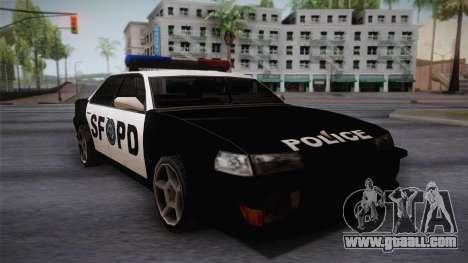 Sultan SFPD for GTA San Andreas