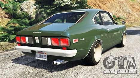 GTA 5 Mazda RX-3 1973 [add-on] rear left side view